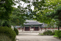 Gyeonghui gung Palace Scenery Royalty Free Stock Photography