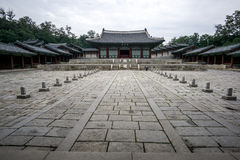 Gyeonghui gung Palace Scenery Royalty Free Stock Images