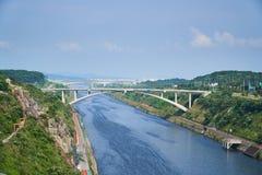 Gyeongin Ara Waterway arkivfoto