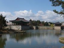 Gyeongju, Korea. A view taken in Anapji Pond, Gyeongju, South Korea Royalty Free Stock Image