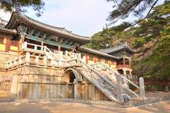 Bulguksa świątynia, Gyeongju, Korea Zdjęcie Royalty Free