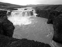 Gygjarfoss, Islande Photos stock
