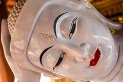 Gyi buddha de reclinação do htat de Chauk (olho doce buddha) Imagens de Stock Royalty Free