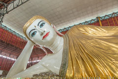 Gyi Chauk htat που ξαπλώνει το Βούδα, yangon, Στοκ φωτογραφία με δικαίωμα ελεύθερης χρήσης