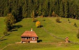 Gyimes - Transylvanian风景 库存照片