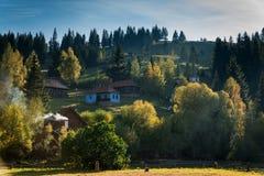 Gyimes - Transylvanian风景 库存图片
