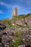 Gylen城堡、凯勒拉岛、Argyll和保泰松,苏格兰 图库摄影