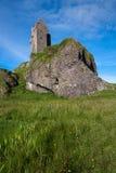Gylen-Schloss, Kerrera, Argyll und hochgebogene Hinterkante, Schottland Stockbilder