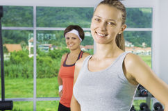 In the gym Royalty Free Stock Photo