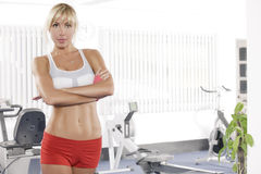 In gym Royalty Free Stock Images