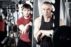 Gym Royalty Free Stock Image