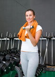 At the gym Stock Images