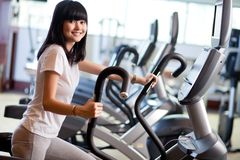 At the gym Royalty Free Stock Photo