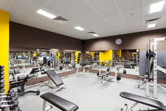 Gym fotografia de stock