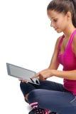 Gym app do estilo de vida Imagem de Stock