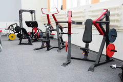 Gym apparatus. The image of gym apparatus Royalty Free Stock Photography