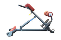 Gym apparatus isolated on white Royalty Free Stock Photography