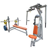 Gym apparatus Stock Image