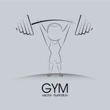 Gym background Stock Image