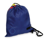 Gym bag. Isolated Stock Photos