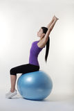 The gym ball Royalty Free Stock Photography