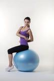 The gym ball Stock Image