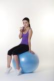 The gym ball Stock Photo