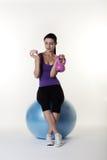 The gym ball Stock Photos