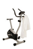 Gym bicycle machine Royalty Free Stock Photo