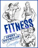 GYM  bodybuilding - Fitness club Stock Photos