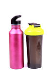 Gym bottles Royalty Free Stock Photos