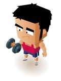 Gym Boy Royalty Free Stock Image