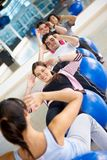 Gym class Stock Photography