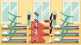 Gym 04 coloridos Foto de Stock Royalty Free