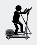Gym concept Stock Images