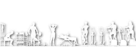 Gym cutout Stock Photo