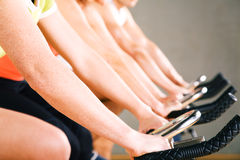 Gym Cycling Stock Images