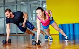 Gym da aptidão Imagens de Stock Royalty Free