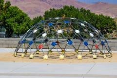 Gym de selva geométrico do campo de jogos Imagem de Stock