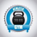Gym design Royalty Free Stock Image