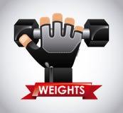 Gym design Stock Photos