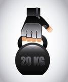 Gym design Royalty Free Stock Photo