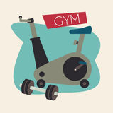Gym design Royalty Free Stock Images
