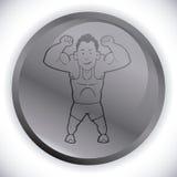 Gym design Royalty Free Stock Photos