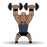 Gym design Royalty Free Stock Photo