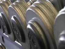 Gym Dumbbell & Equipment Footage stock video footage