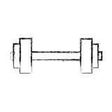 Gym dumbbell weight Royalty Free Stock Photography