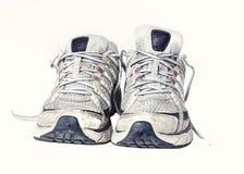Gym działających butów sneakers trenery Obrazy Stock