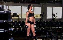 Gym dziewczyna 3 Zdjęcie Royalty Free