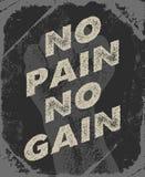 Gym e projeto do cartaz do exercício Fotos de Stock Royalty Free